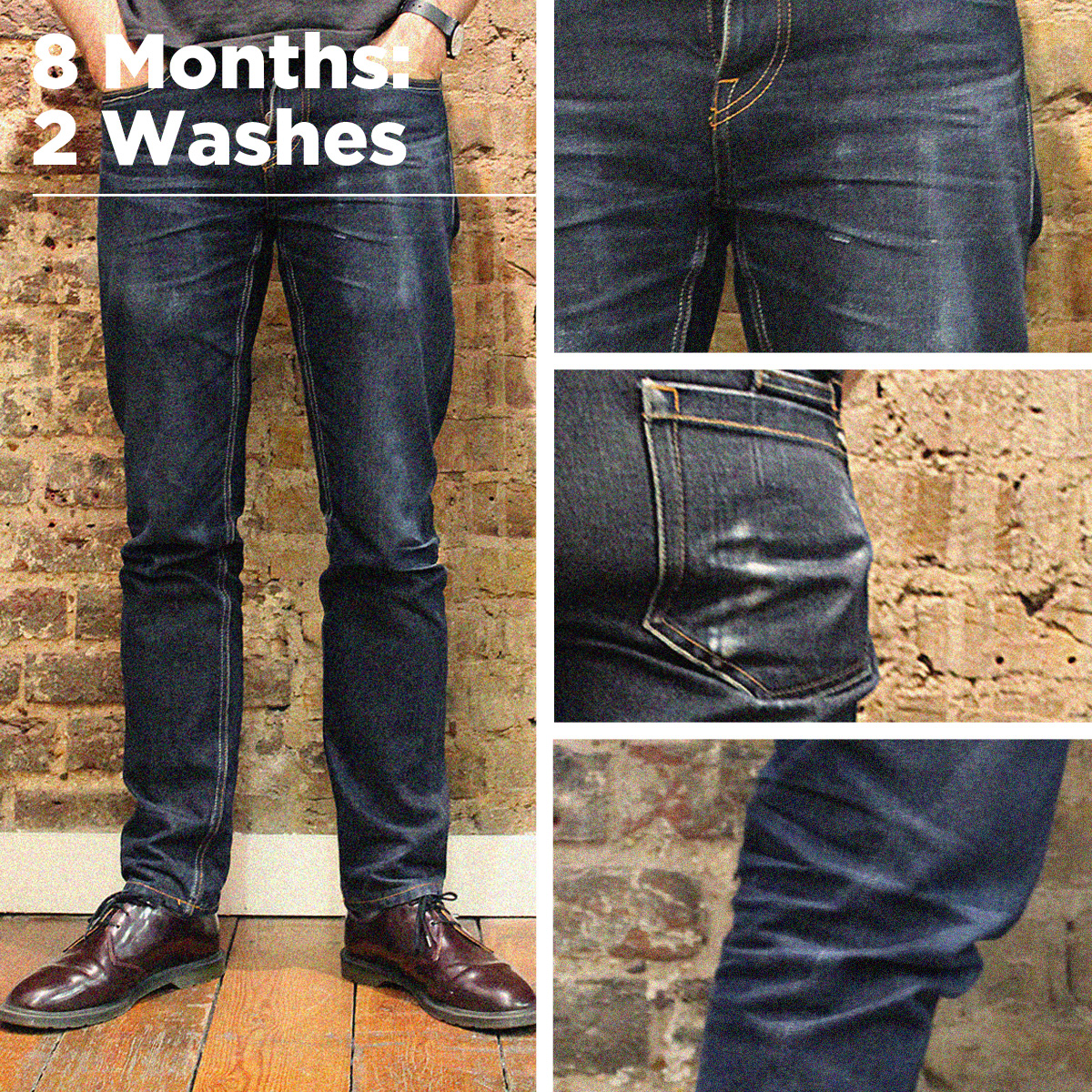 How to wash jeans in a washing machine